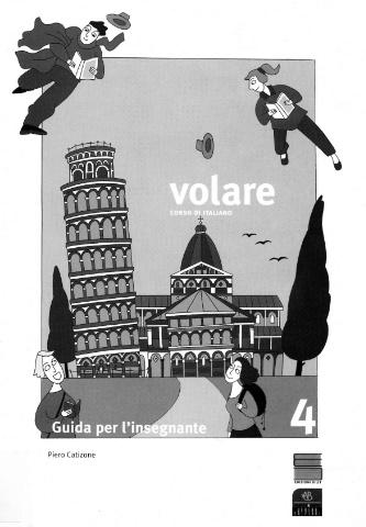 Volare 4 Corso di italiano per livello intermedio