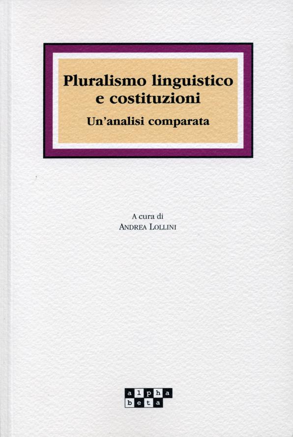 Pluralismo linguistico e costituzioni