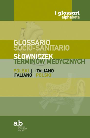 Glossario socio-sanitario Polacco-Italiano | Italiano-Polacco